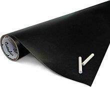 Tafelfolie schwarz, selbstklebend, 122 x 100 cm