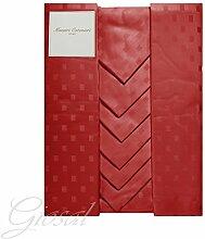 Tafelservice Tischdecke baumwollmeister verschiedenen Farben made in Italy 100% Baumwolle giosal X24 ro
