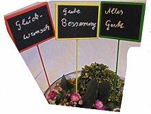 Tafelsticker Tafelstecker Pflanzensticker Tafeln Kreidetafeln Kräuterstecker 3er Se
