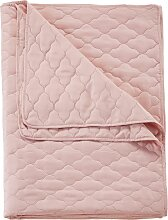 Tagesdecke Alex, rosa (Doppelbett 160cm ohne
