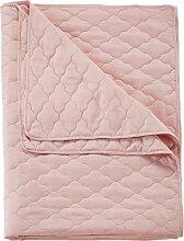 Tagesdecke Alex, rosa (Doppelbett 200 cm ohne