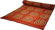 Tagesdecke / Bettdecke aus Baumwolle Madhavi Größe: Double 225cm W x 275cm T