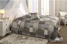 Tagesdecke Bettüberwurf Sofaüberwurf Patchwork