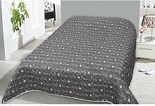Tagesdecke in vielen Designs, gesteppter Bett- und Sofaüberwurf XXL ( 220x240cm - Dream )