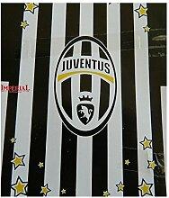 Tagesdecke Juventus Turin weiß / schwarz, Größe