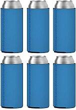 TahoeBay 6 Slim Dosenhüllen – blanko Neopren