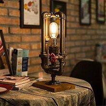 TAIDENGTF Retro kreative Wasserpfeife Lampe