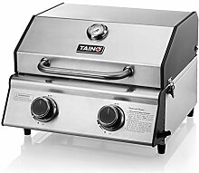 TAINO COMPACT 2.0 S Tischgrill 2 Brenner Gasgrill