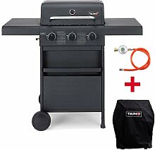 TAINO COMPACT Gasgrill Grillwagen Griller BBQ