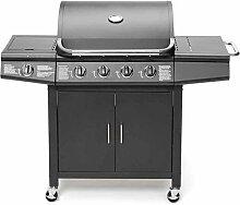 TAINO PRO Gasgrill BBQ Grill-Wagen 4