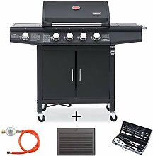 TAINO RED 4+1 Gasgrill inkl. Grillbesteck Set
