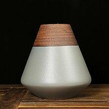 TAIYUANJIN Geschenkbox verpackt keramik blumenvasen,Konisch Hotel Modell-zimmer Dekoration-B 10*10*10inch