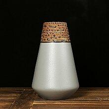 TAIYUANJIN Geschenkbox verpackt keramik blumenvasen,Konisch Hotel Modell-zimmer Dekoration-A 8*8*13inch