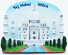 Taj Mahal Indian Indien 8th Wonder 3D Resin TOY Fridge Magnet Schiff frei
