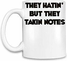 Takin Notes Kaffee Becher