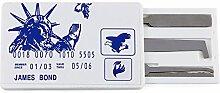 TAKIT Dietrich Set im Kreditkarten Stil, Schlosser