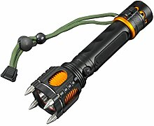 Taktische Taschenlampe, JIAMEIYI CREE XML T6 Hellste LED-Taschenlampe mit 1000 Lumen 5 Lichtmodi Wasserdicht Ideal für Draussen Radfahren Camping Wandern Notfall(Schwarz-Gelb)