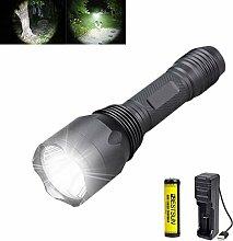 Taktische taschenlampe, Super Helle 1200 Lumen LED