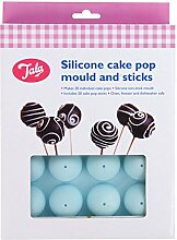 Tala 20 Loch Cake-Pop-Backform, 20 Stück, blau