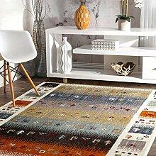 Taleta Moderner Gabbeh Teppich Wohnzimmer mit