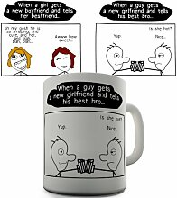 Talken Witz Kaffeetasse Tasse Becher Cup Mug für Jungen und Mädchen Keramiktasse