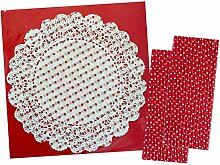 Talking Tables Deckchen mit Punktemuster, 24,1 cm,