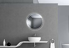 Talos Moonshine LED Badspiegel, Weiß, 60 cm