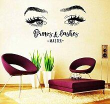 Tamengi Aufkleber für Wimpern, Augenbrauen,