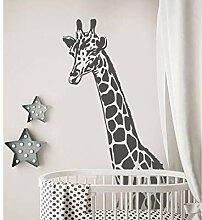 Tamengi Giraffen-Wandaufkleber – Giraffenkopf