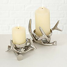Tamia-Home 2er Set Kerzenleuchter Adventskranz
