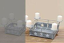Tamia-Home Adventskranz Kerzenleuchter