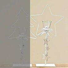 Tamia-Home Adventskranz Windlicht Kerzenhalter