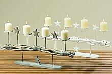 Tamia-Home Adventskranz Windlicht Windlichthalter