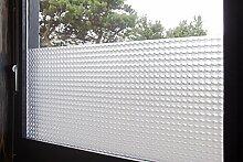 """Tamia-Living Statische Fensterfolie 90% UV-Sonnenschutz Selbsthaftende Sichtschutzfolie Glasdekor """"""""Insektenaugen"""""""" S010 (90*150cm)"""