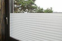 """Tamia-living Statische Fensterfolie 90% UV-Sonnenschutz Selbsthaftende Sichtschutzfolie Glasdekor """"""""Jalousie"""""""" P040 (60*150cm)"""