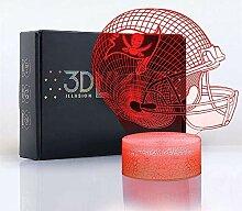 Tampa Bay Buccaneers Flache 3D-Optische