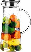 TAMUME 1,5 Liter Wasser Pitcher Obst Wasserkrug