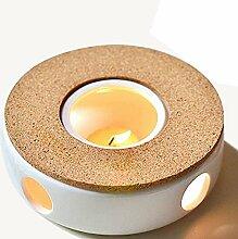 TAMUME Klassisches Porzellan Teekanne Wärmer mit