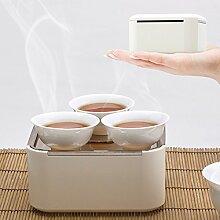 Tamume tragbares Kungfu Porzellan-Tee-Set im