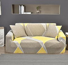 Tanboank Sofabezug 1 2 3 4 Sitzer Sofa Gelb