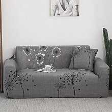 Tanboank Sofabezug 1 2 3 4 Sitzer Sofa Grau