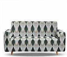 Tanboank Sofabezug 1 2 3 4 Sitzer Sofa,Grün,