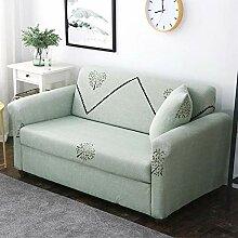 Tanboank Sofabezug 1 2 3 4 Sitzer Sofa Grüne