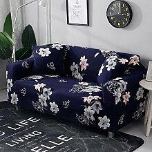 Tanboank Sofabezug 1 2 3 4 Sitzer Sofa, Marineblau