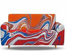 Tanboank Sofabezug 1 2 3 4 Sitzer Sofa,Rot,
