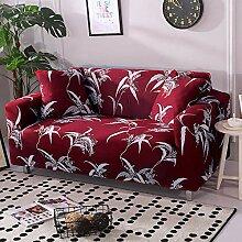 Tanboank Sofabezug 1 2 3 4 Sitzer Sofa, Rote