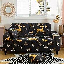 Tanboank Sofabezug 1 2 3 4 Sitzer Sofa,Weihnachten