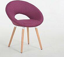 TANG CHAO Hocker Nordic Holz Stühle Schreibtisch Stühle Minimalistischen Designer Casual Stuhl Kaffee Stuhl Hotel Stuhl Computer Stuhl (40 * 35 * 80 cm) Stühle (Farbe : C)