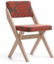 TANG CHAO Hocker Stuhl Holz Esszimmer Stuhl Tuch
