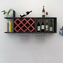 TANG CHAO Kleines Lagerregal Rack Weinschrank Wand